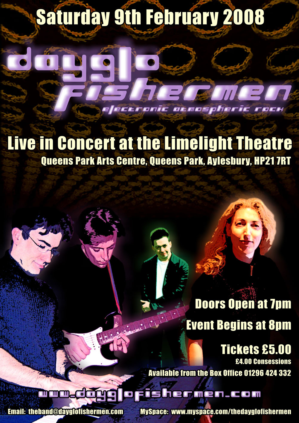 Limelight Theatre concert poster 2008