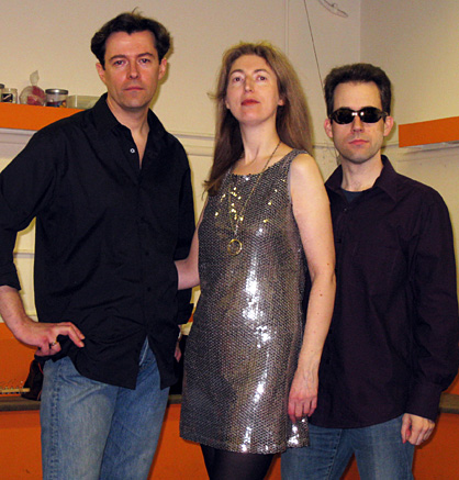 Dayglo Fishermen - Group Photo - Richard Burton, Ginny Owens and Peter Fothergill - Limelight Theatre Concert 2008