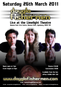 Limelight Theatre concert poster - 2011